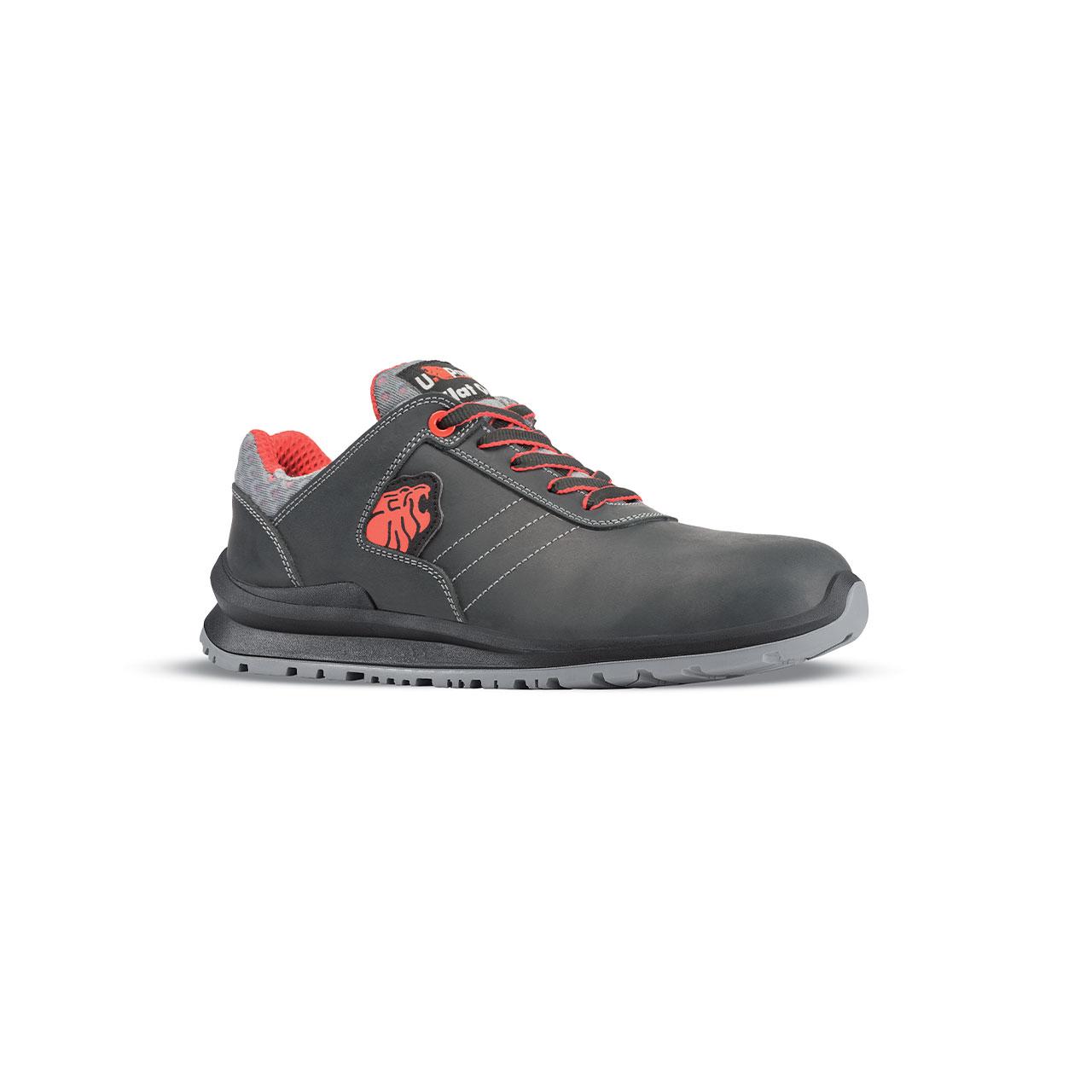 scarpa antinfortunistica upower modello bjorn linea flatout vista laterale