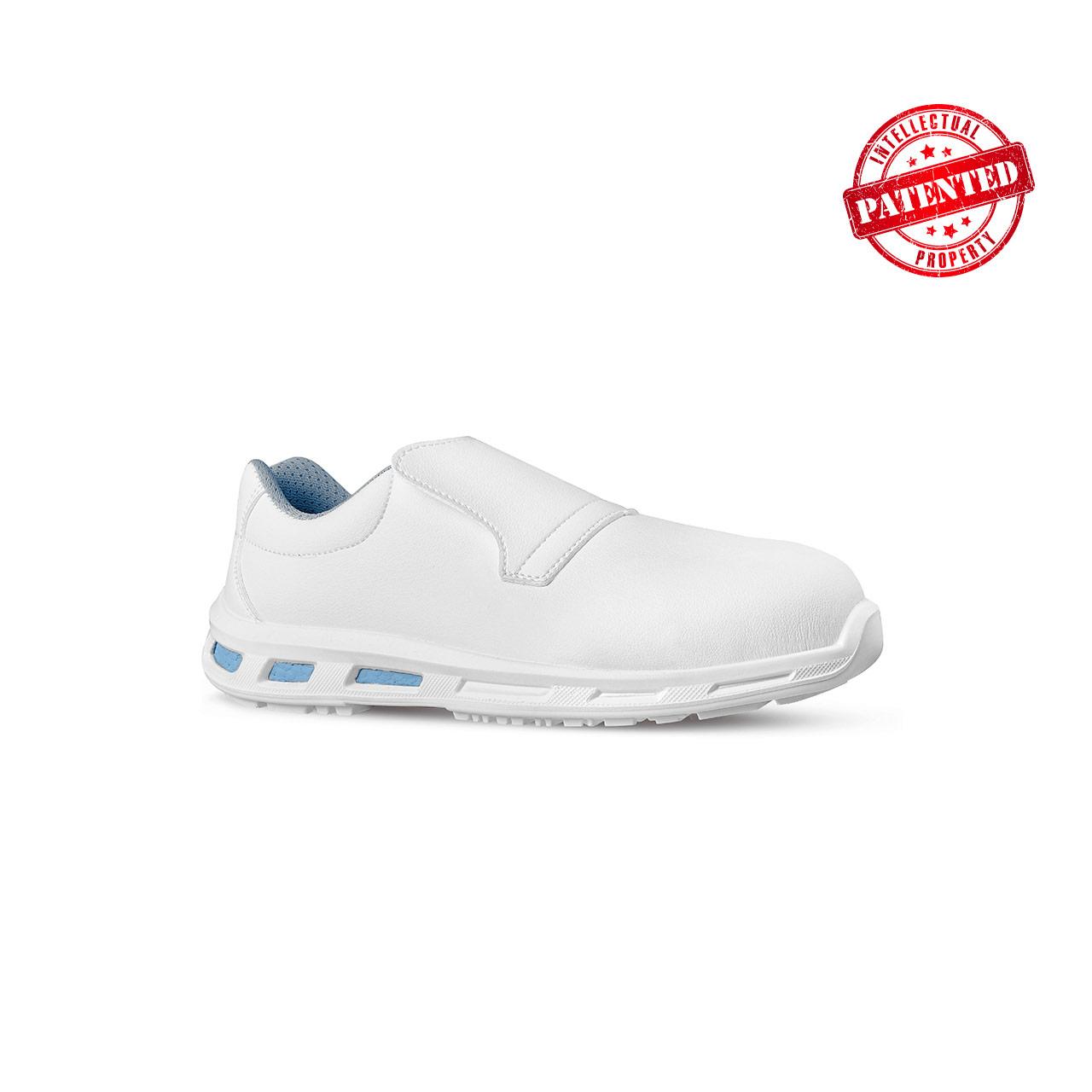 scarpa antinfortunistica upower modello blanco linea redlion vista laterale