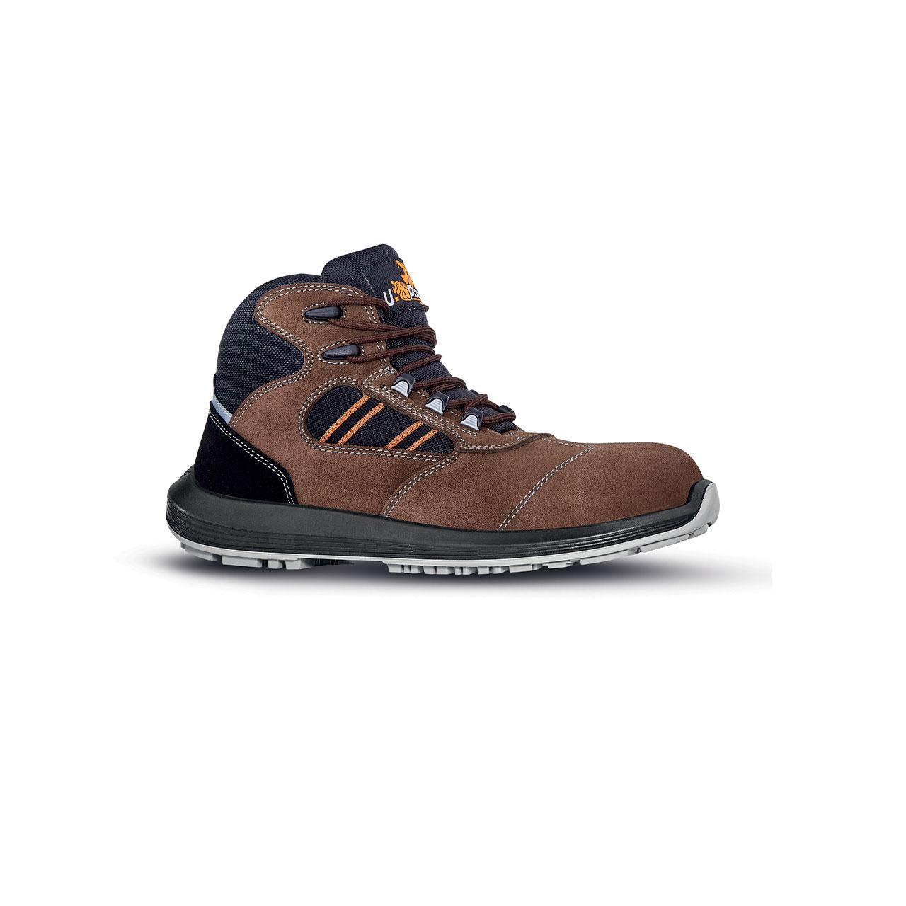 scarpa antinfortunistica upower modello bonde linea rock_roll vista laterale