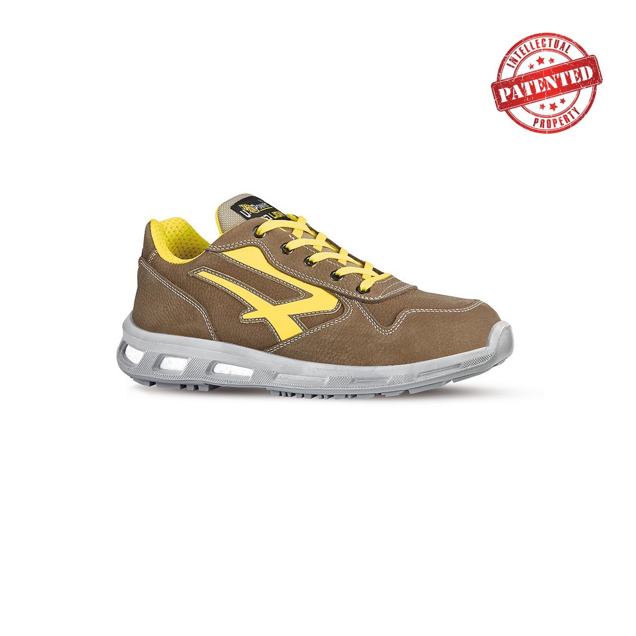 scarpa antinfortunistica upower modello brave linea redlion vista laterale