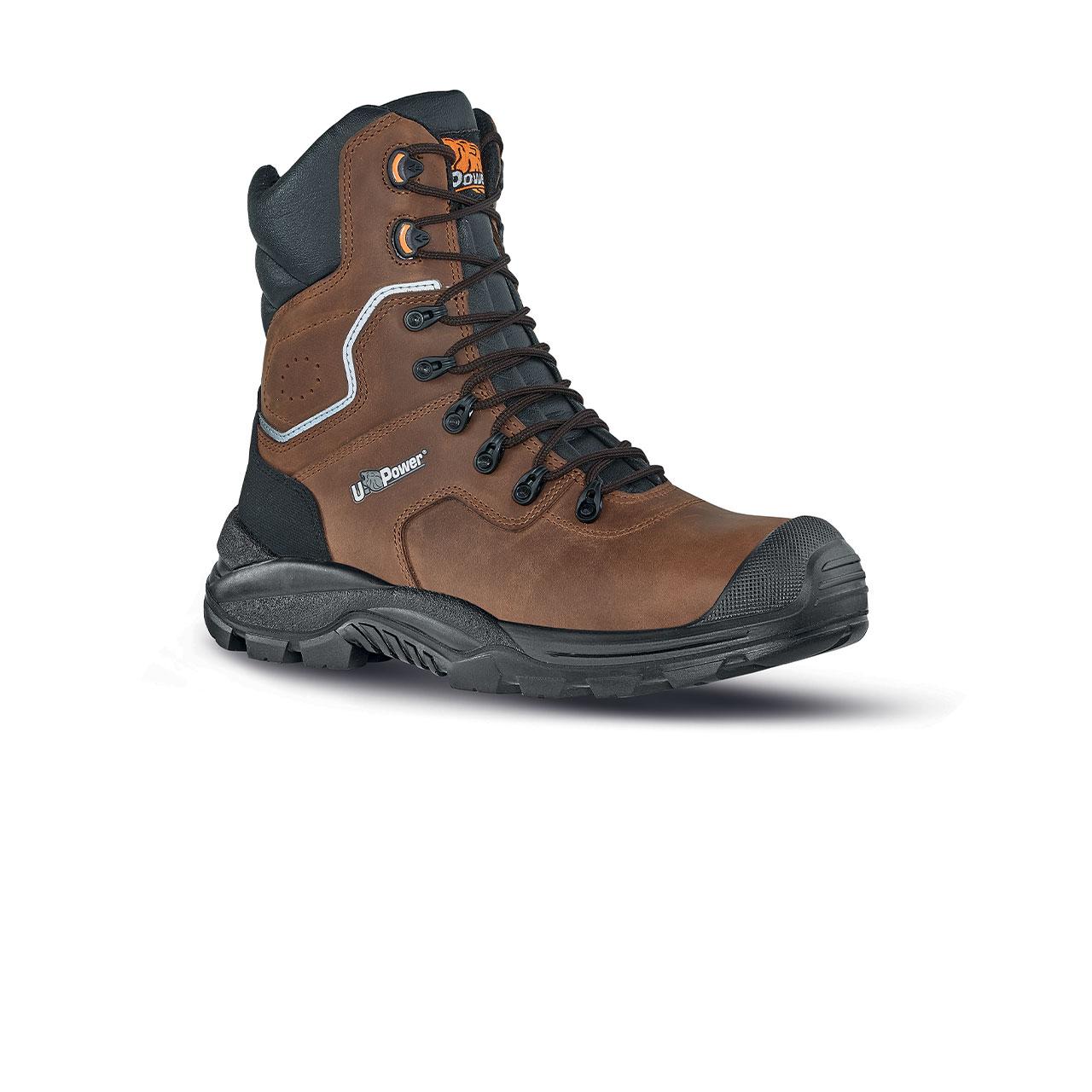 scarpa antinfortunistica upower modello calgary linea rock_roll vista laterale