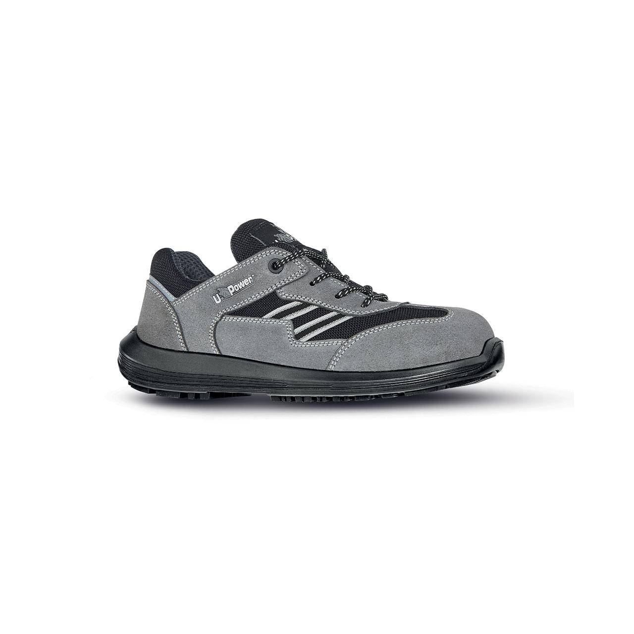 scarpa antinfortunistica upower modello california linea rock_roll vista laterale