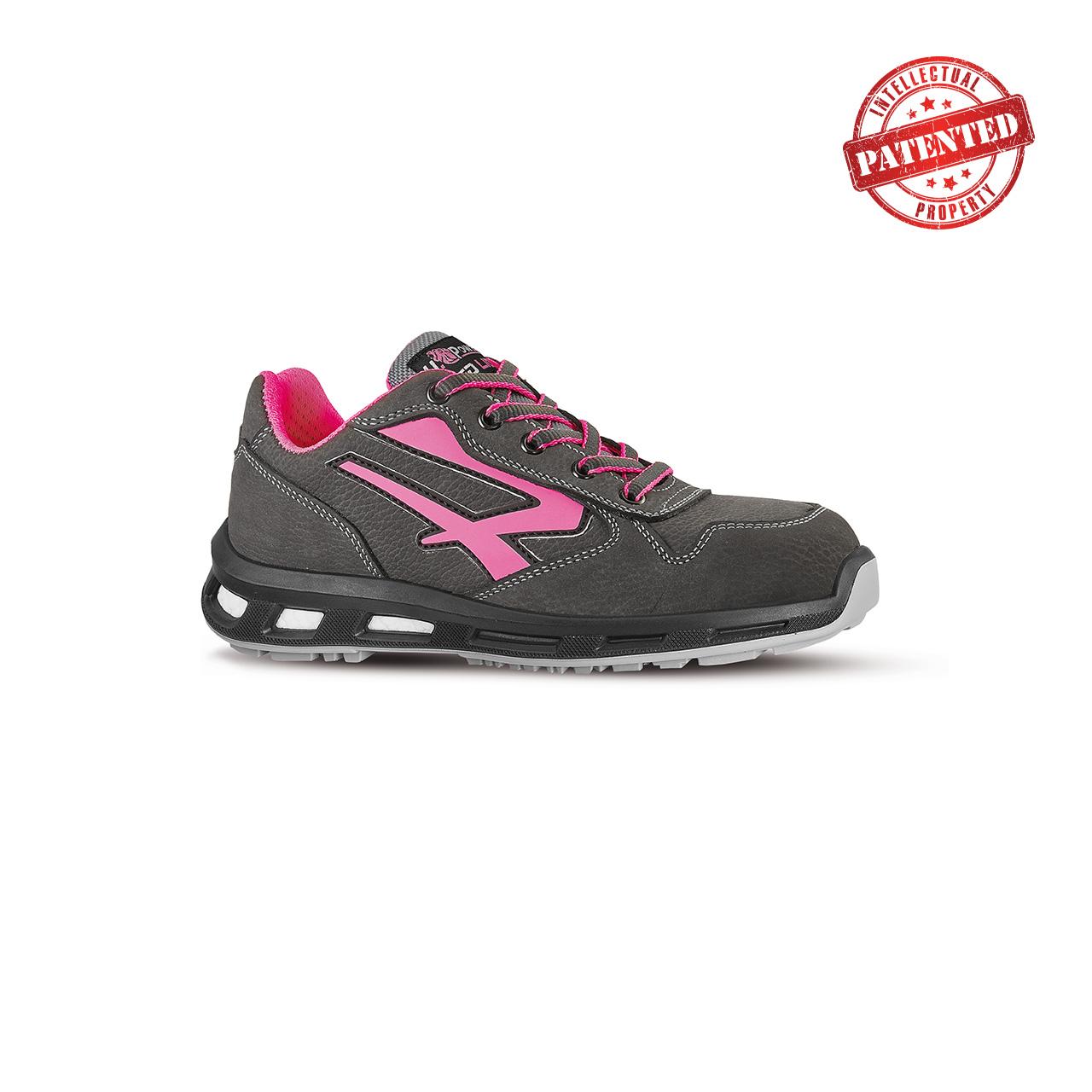 scarpa antinfortunistica upower modello candy linea redlion vista laterale