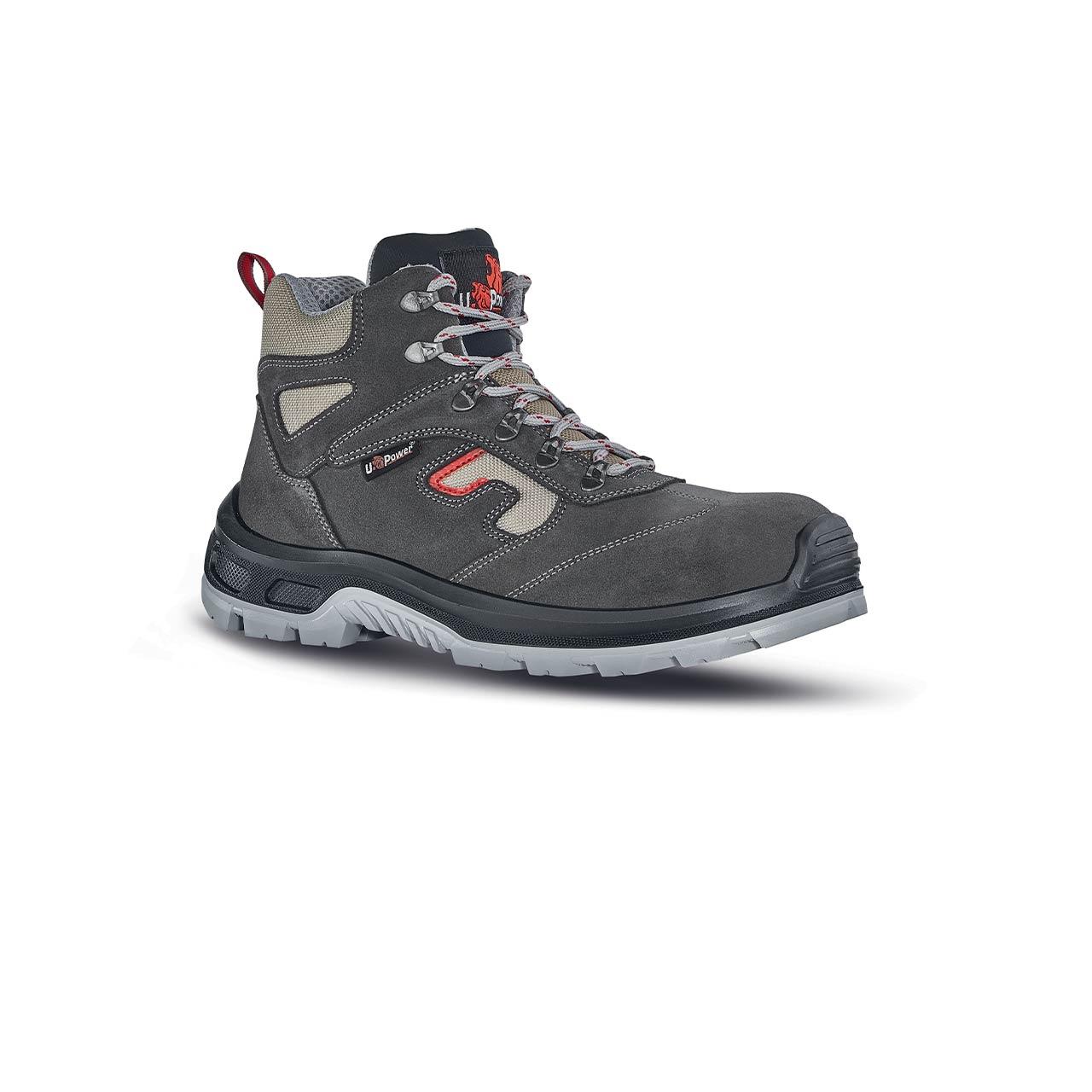 scarpa antinfortunistica upower modello check linea stepone vista laterale