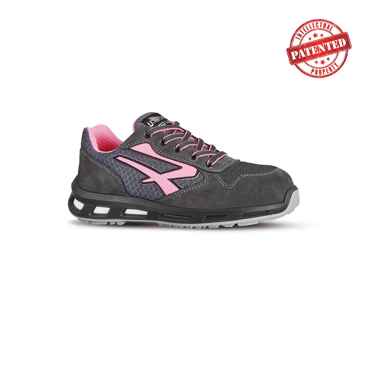 scarpa antinfortunistica upower modello cherry linea redlion vista laterale