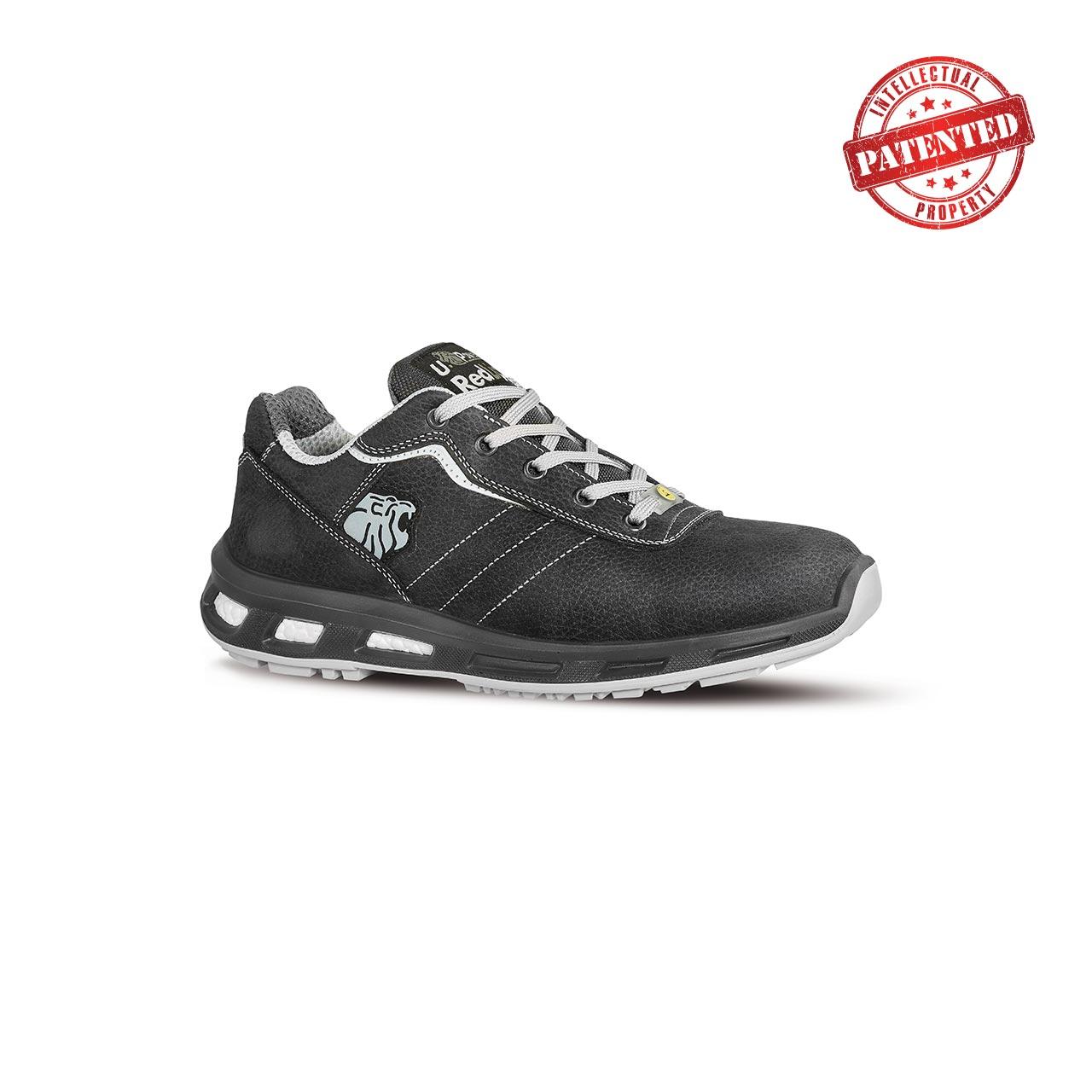 scarpa antinfortunistica upower modello club linea redlion vista laterale