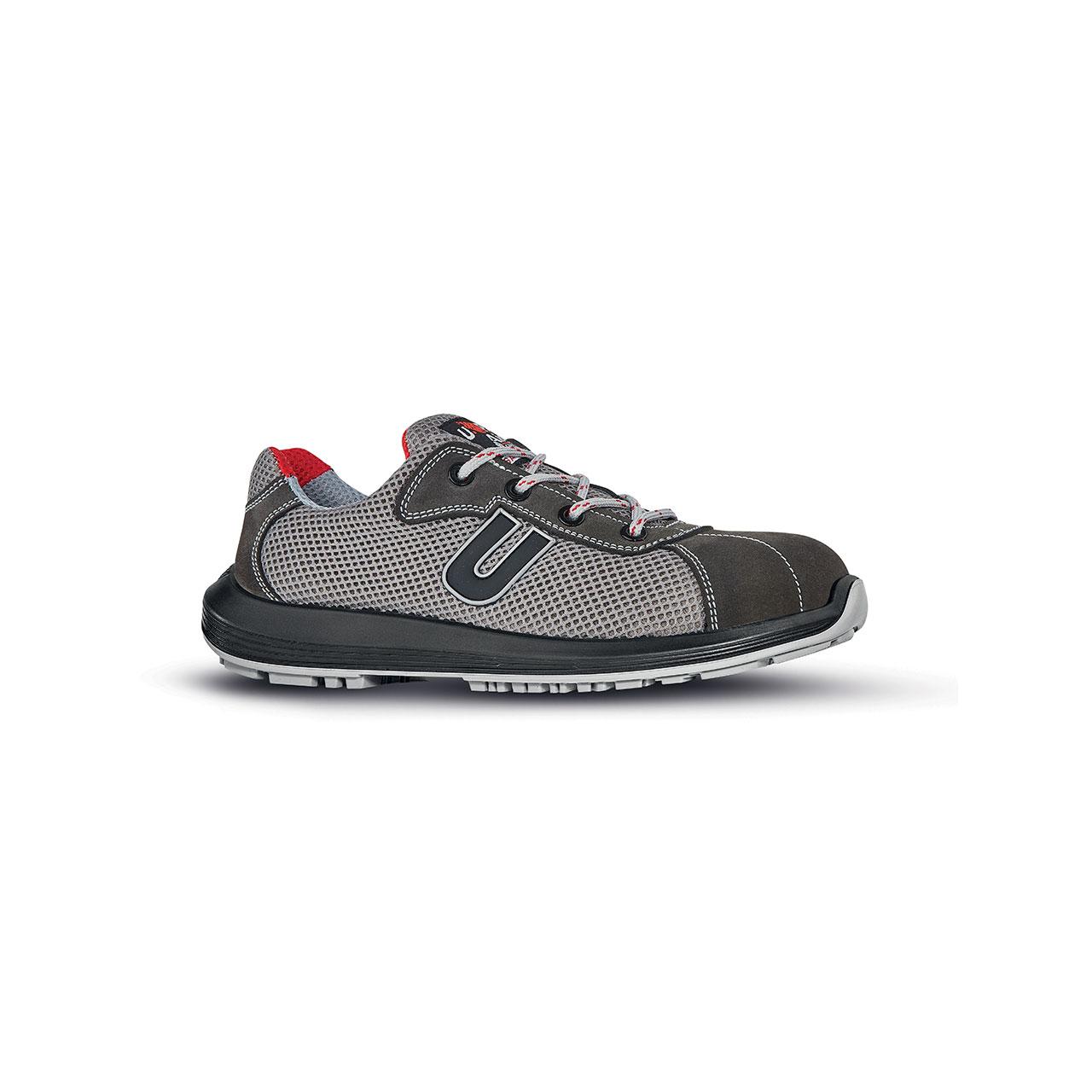 scarpa antinfortunistica upower modello coal linea rock_roll vista laterale