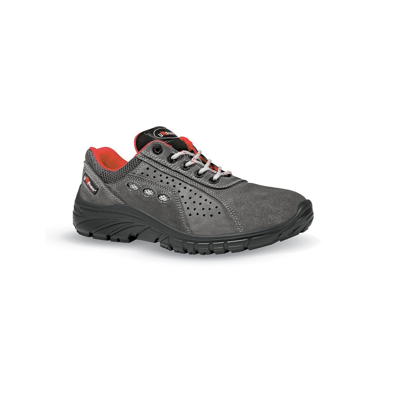 scarpa antinfortunistica upower modello comfortgrip linea professional vista laterale