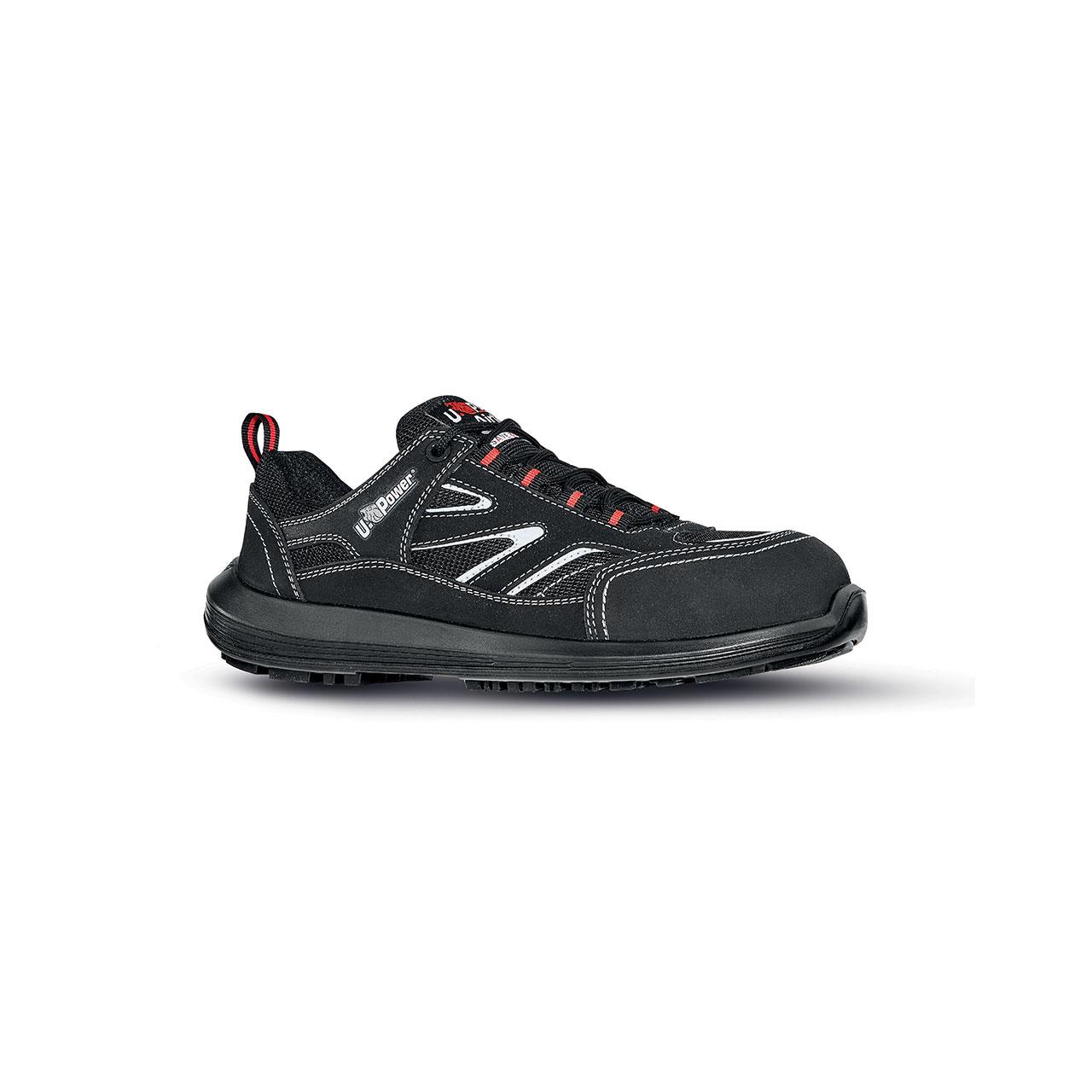 scarpa antinfortunistica upower modello dardo linea rock_roll vista laterale
