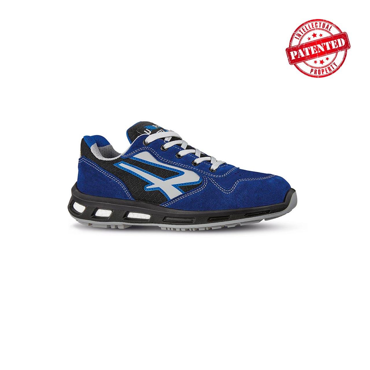 scarpa antinfortunistica upower modello dea linea redlion vista laterale