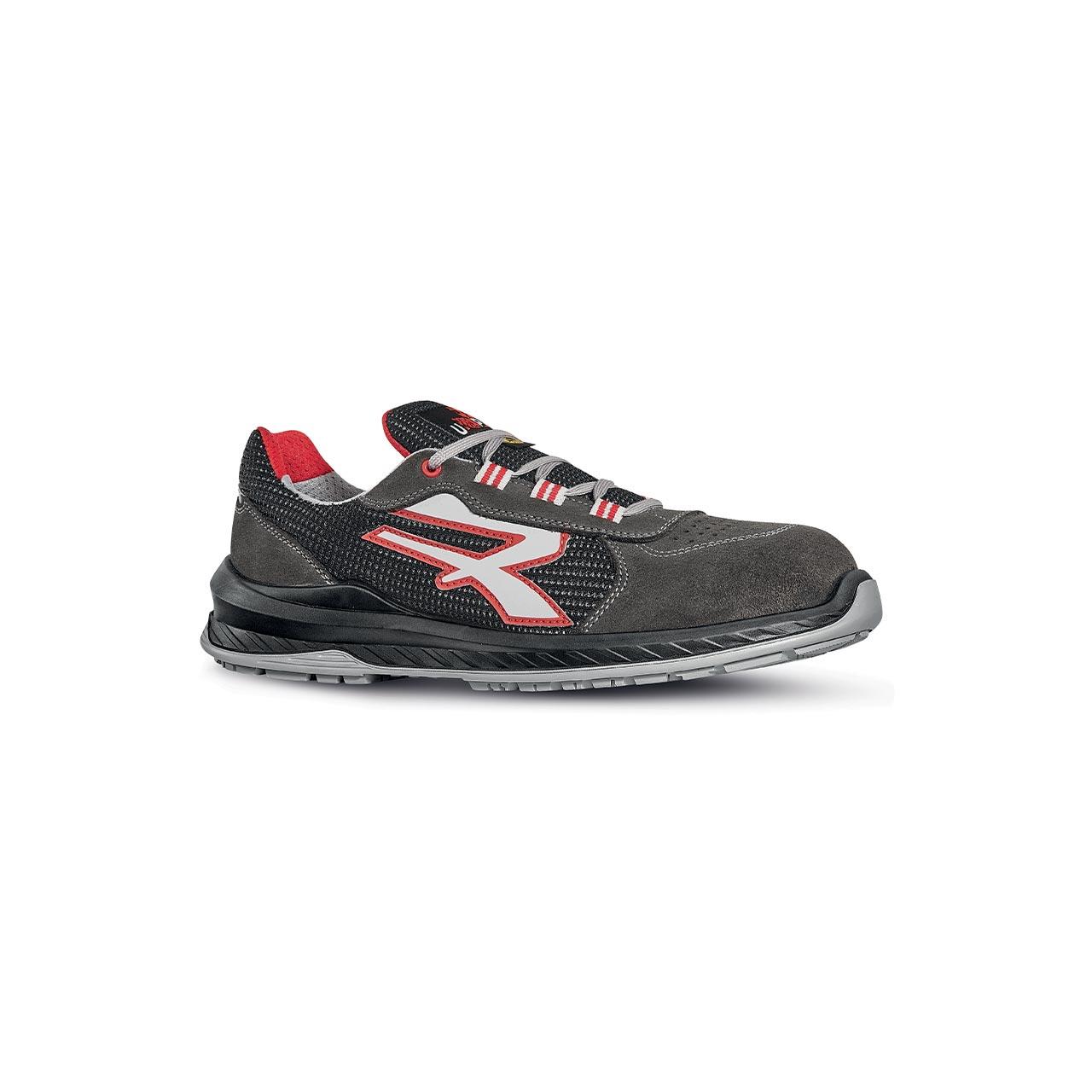 scarpa antinfortunistica upower modello demon linea redindustry vista laterale