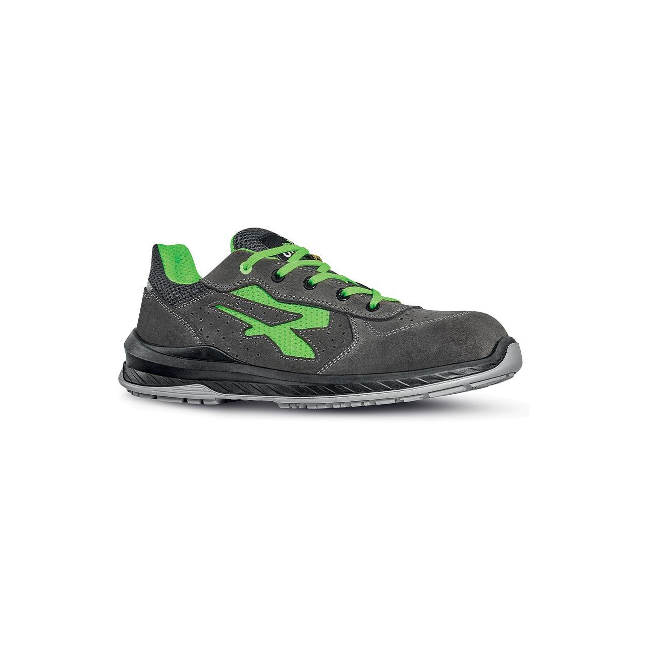 scarpa antinfortunistica upower modello denver linea redindustry vista laterale