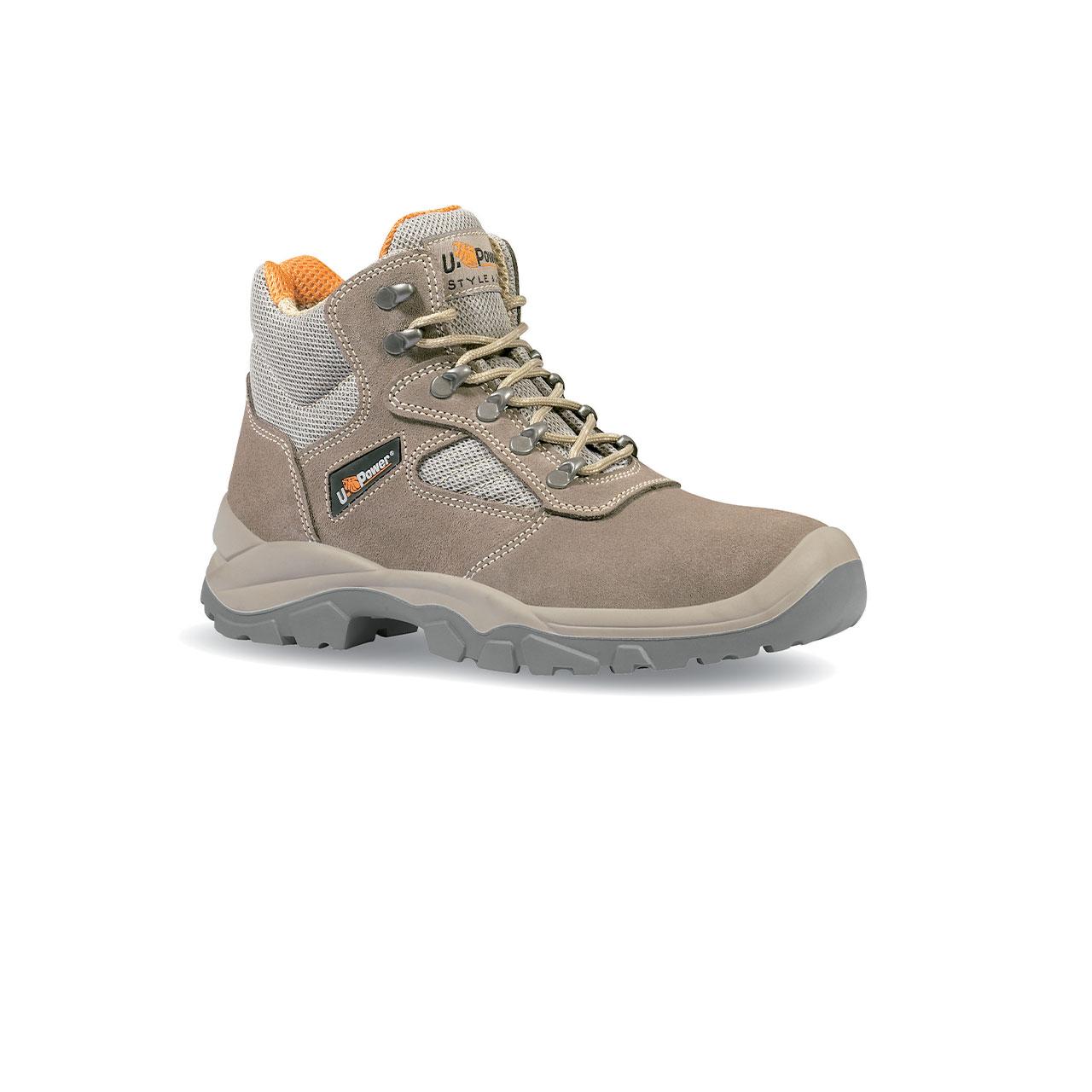 scarpa antinfortunistica upower modello desert linea STYLE_JOB vista laterale
