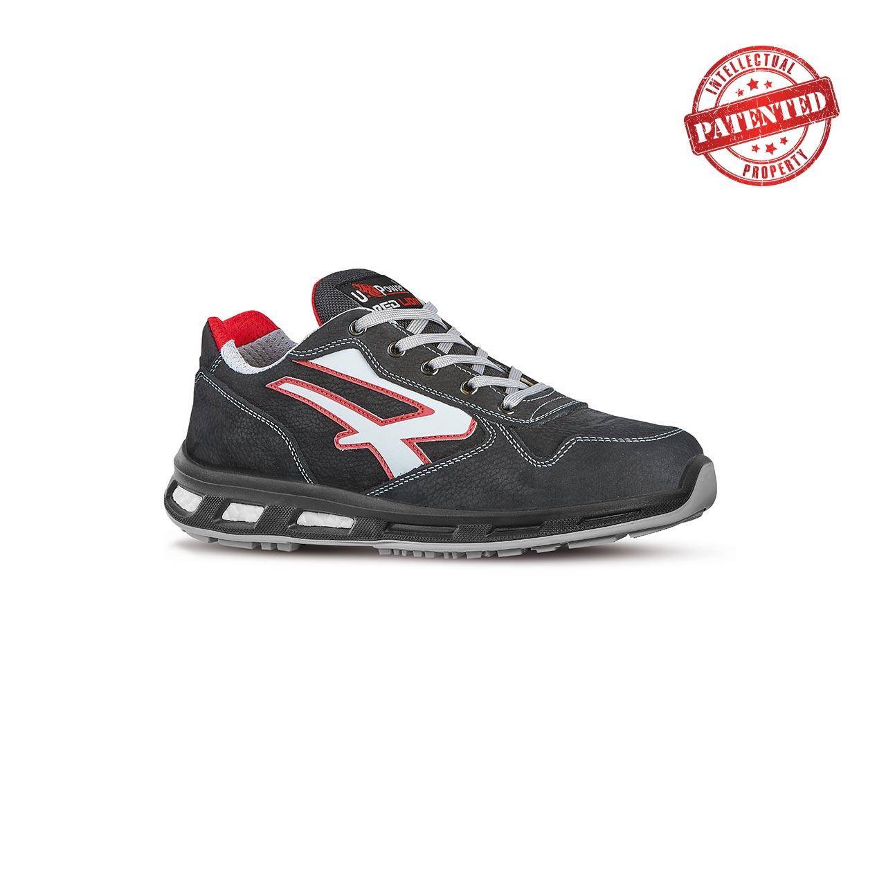 scarpa antinfortunistica upower modello dharma linea redlion vista laterale
