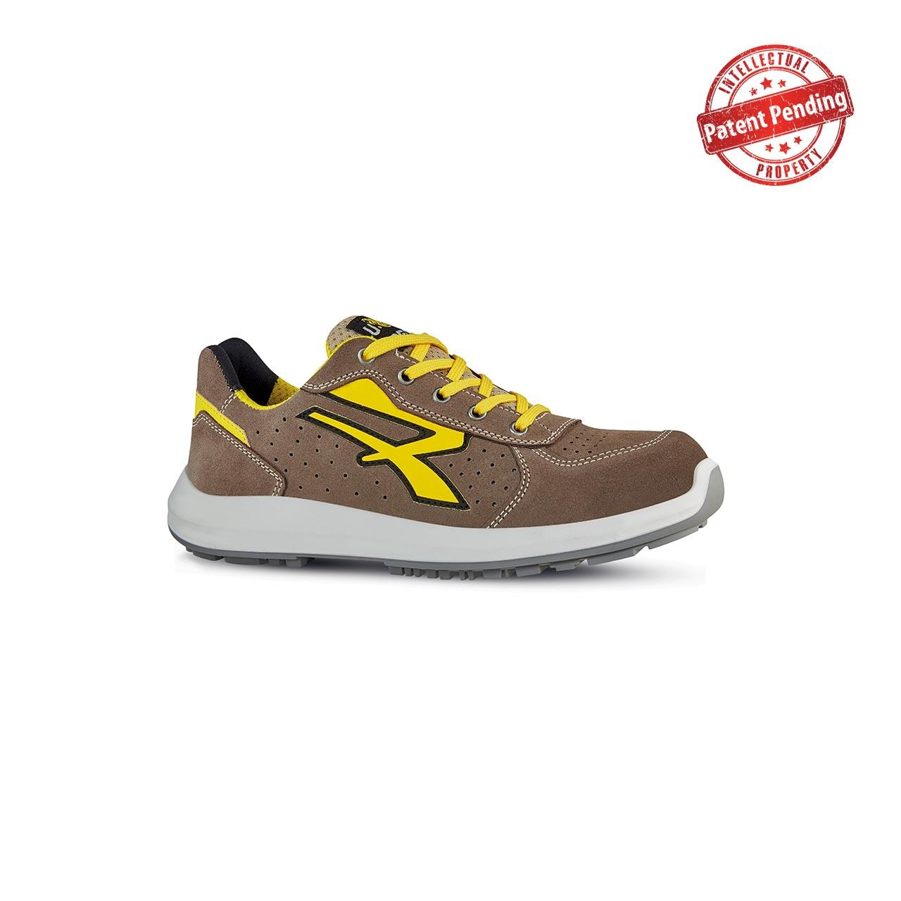 scarpa antinfortunistica upower modello dorado linea redup vista laterale