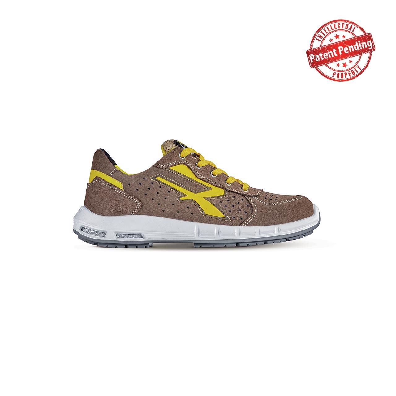 scarpa antinfortunistica upower modello dorado plus linea redup plus vista laterale