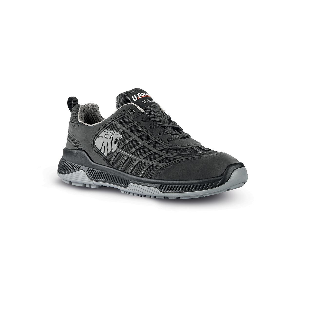 scarpa antinfortunistica upower modello dribbling linea winner vista laterale