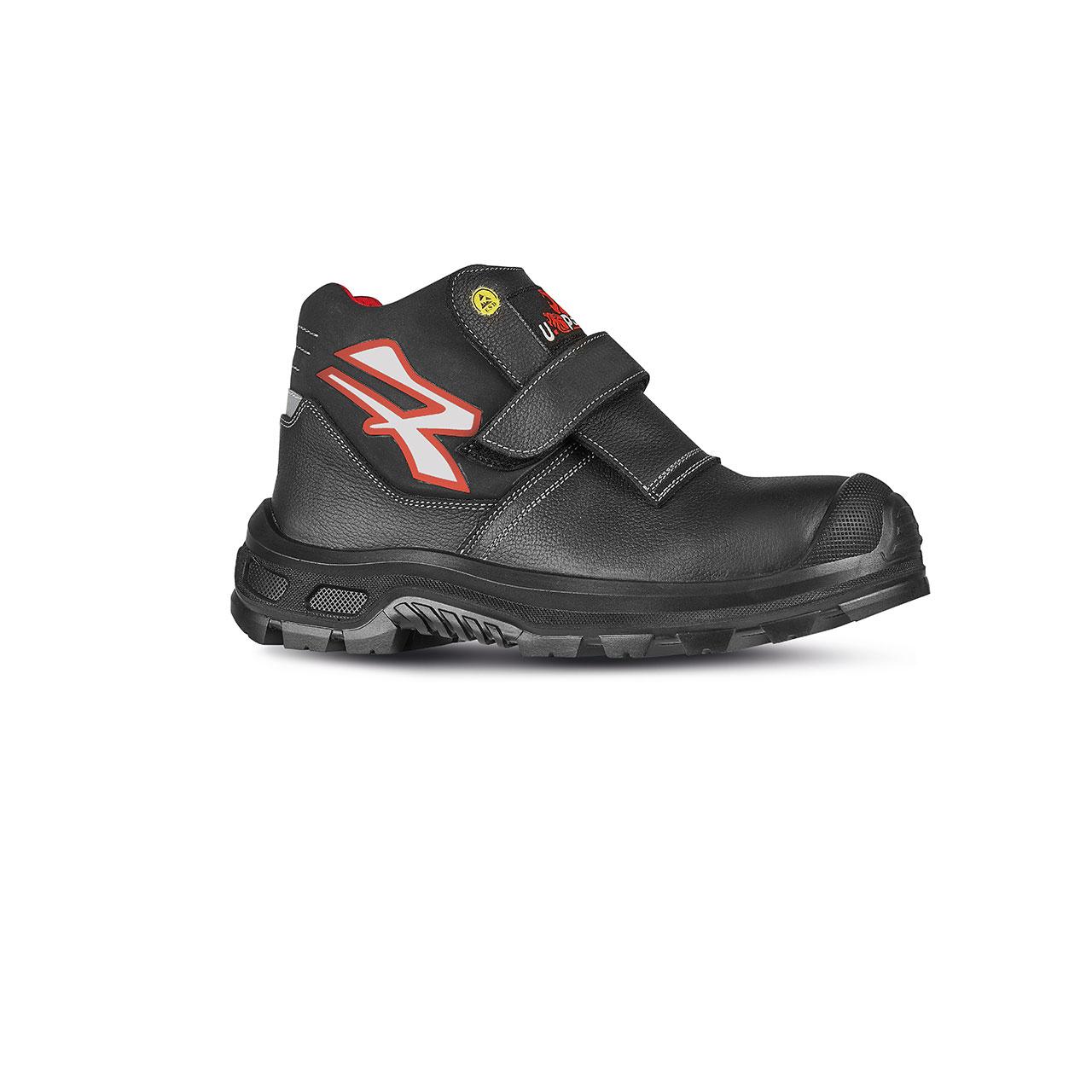scarpa antinfortunistica upower modello dubai linea redindustry vista laterale