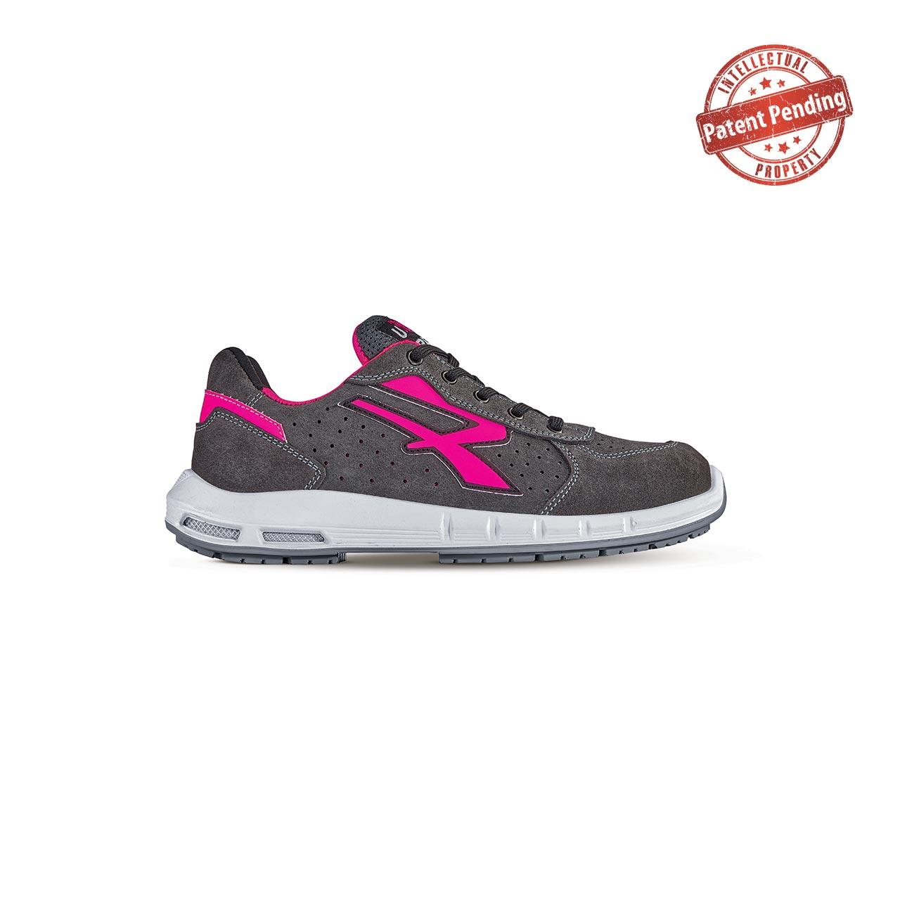 scarpa antinfortunistica upower modello electra plus linea redup plus vista laterale