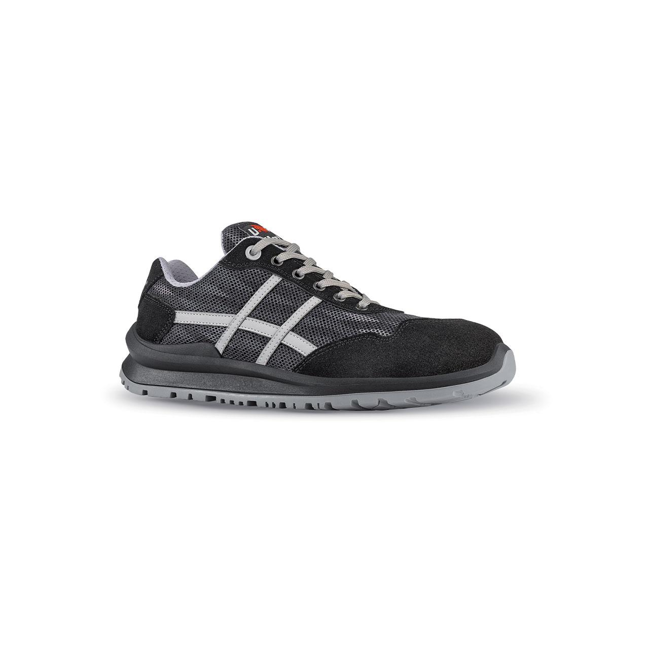 scarpa antinfortunistica upower modello fangio linea flatout vista laterale
