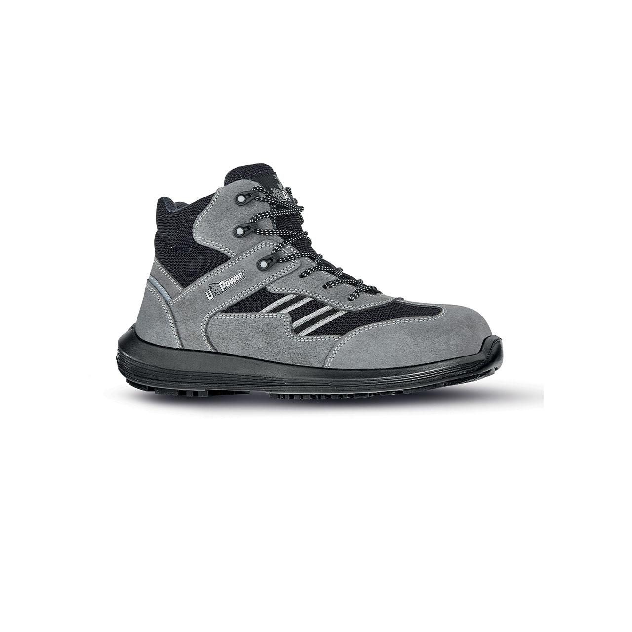scarpa antinfortunistica upower modello florida linea rock_roll vista laterale