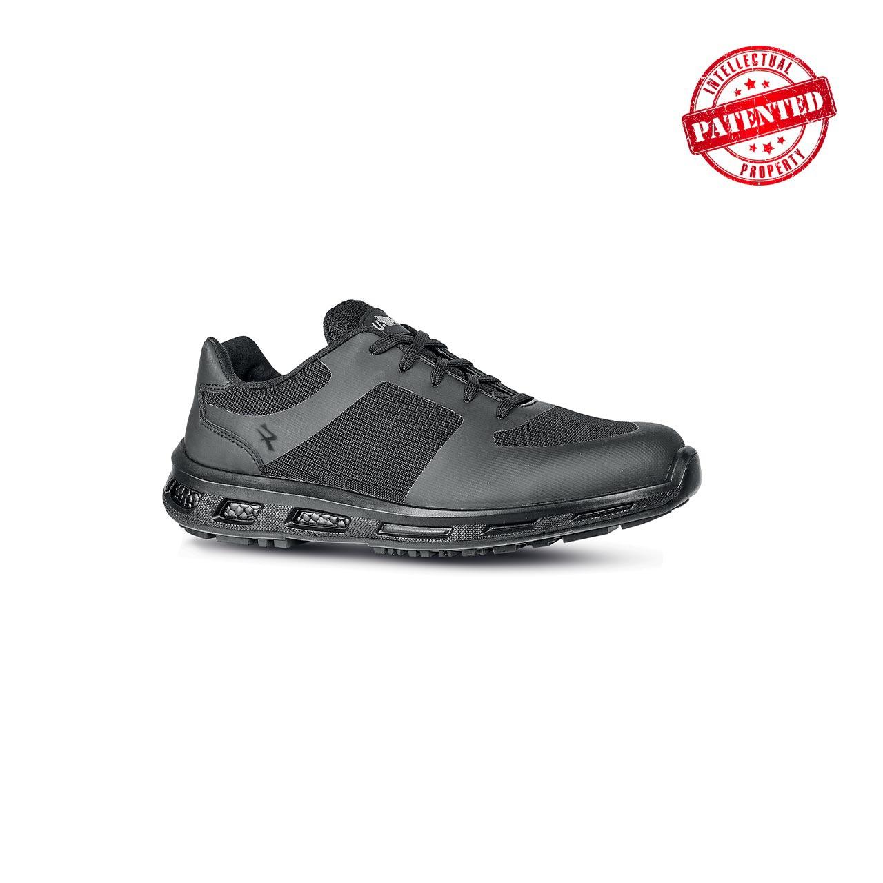 scarpa antinfortunistica upower modello foreman linea redpro vista laterale