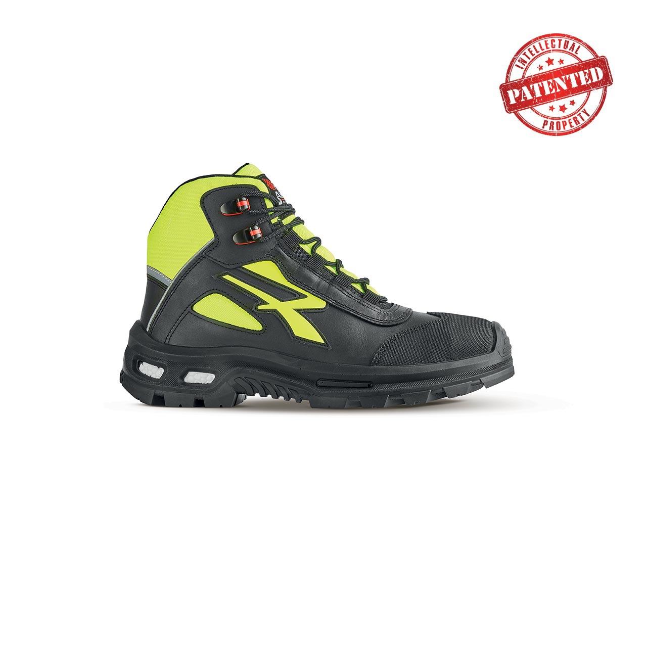 scarpa antinfortunistica upower modello form linea redover vista laterale
