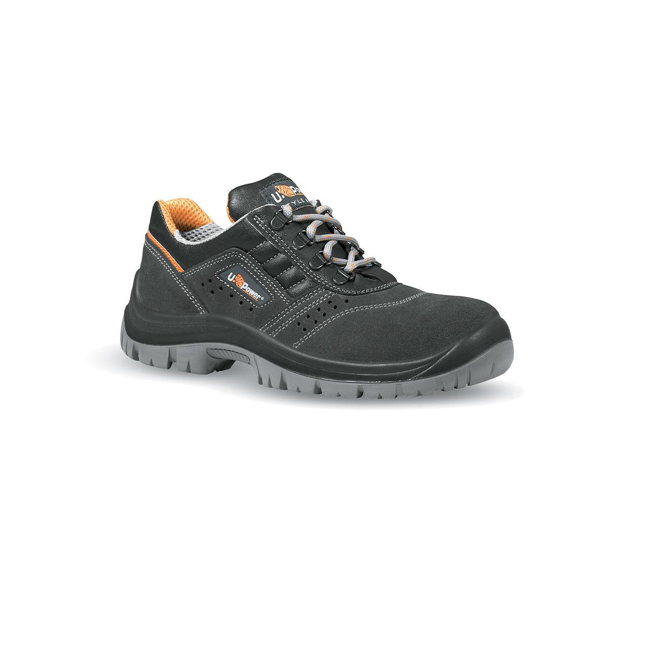 scarpa antinfortunistica upower modello fox linea STYLE&JOB vista laterale