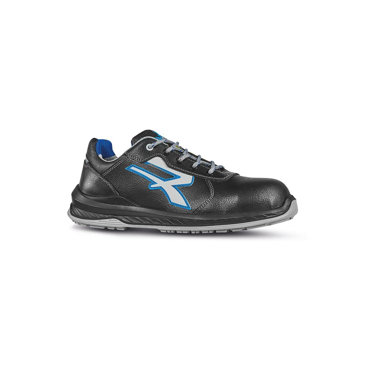 scarpa antinfortunistica upower modello fuerte linea redindustry vista laterale