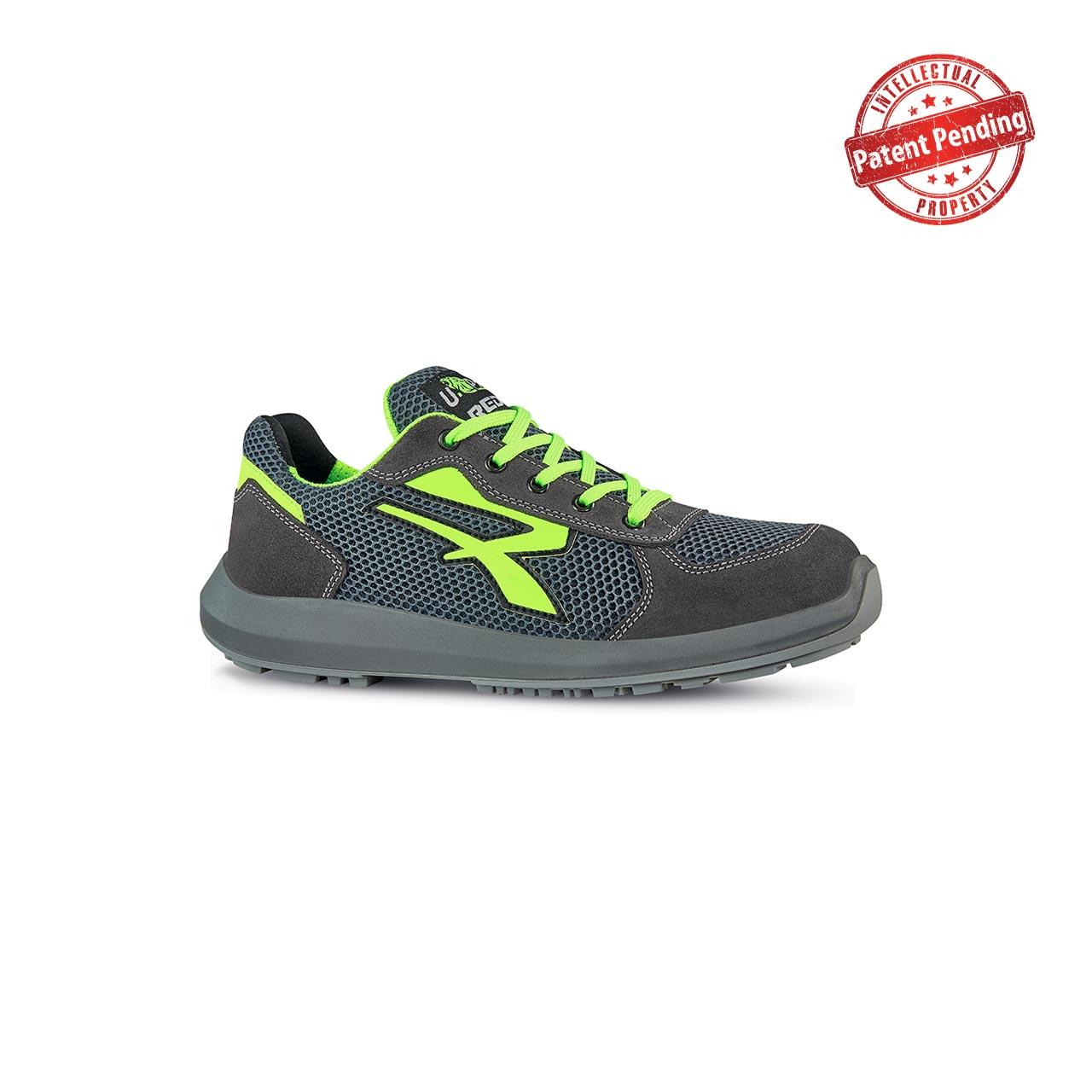 scarpa antinfortunistica upower modello gemini linea redup vista laterale