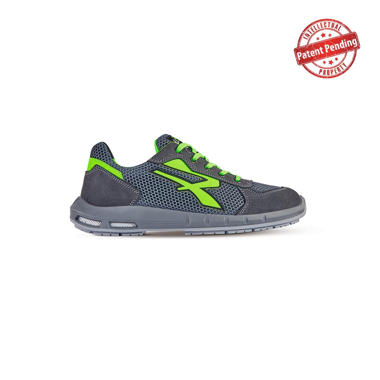 scarpa antinfortunistica upower modello gemini plus linea redup plus vista laterale