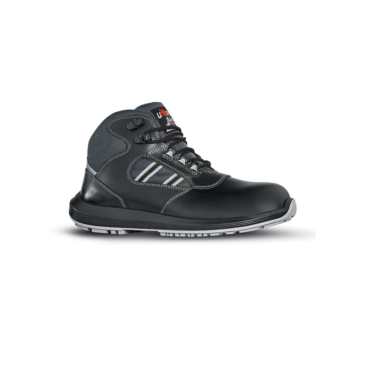 scarpa antinfortunistica upower modello gippo linea rock_roll vista laterale
