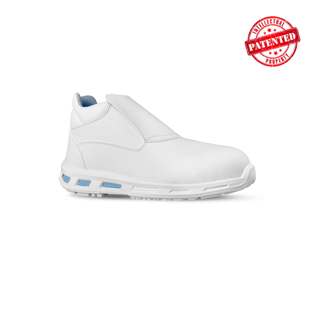scarpa antinfortunistica upower modello glace linea redlion vista laterale