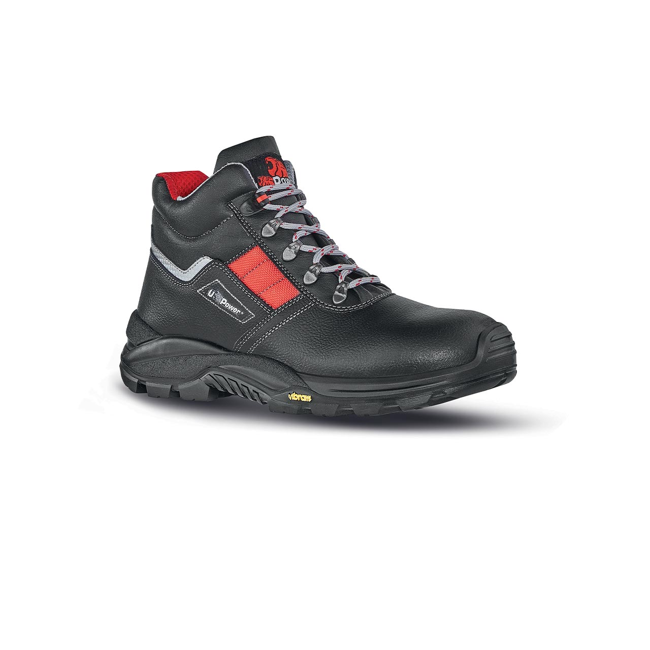 scarpa antinfortunistica upower modello gravel linea conceptplus vista laterale