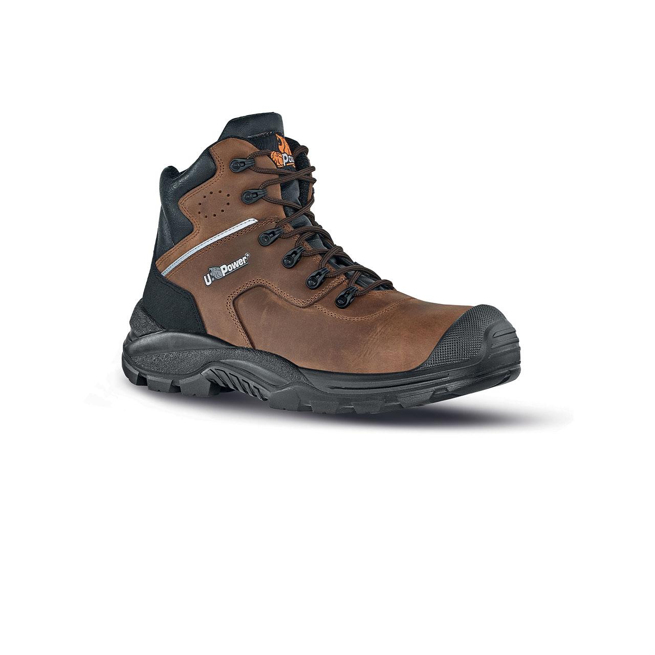 scarpa antinfortunistica upower modello greenland linea rock_roll vista laterale