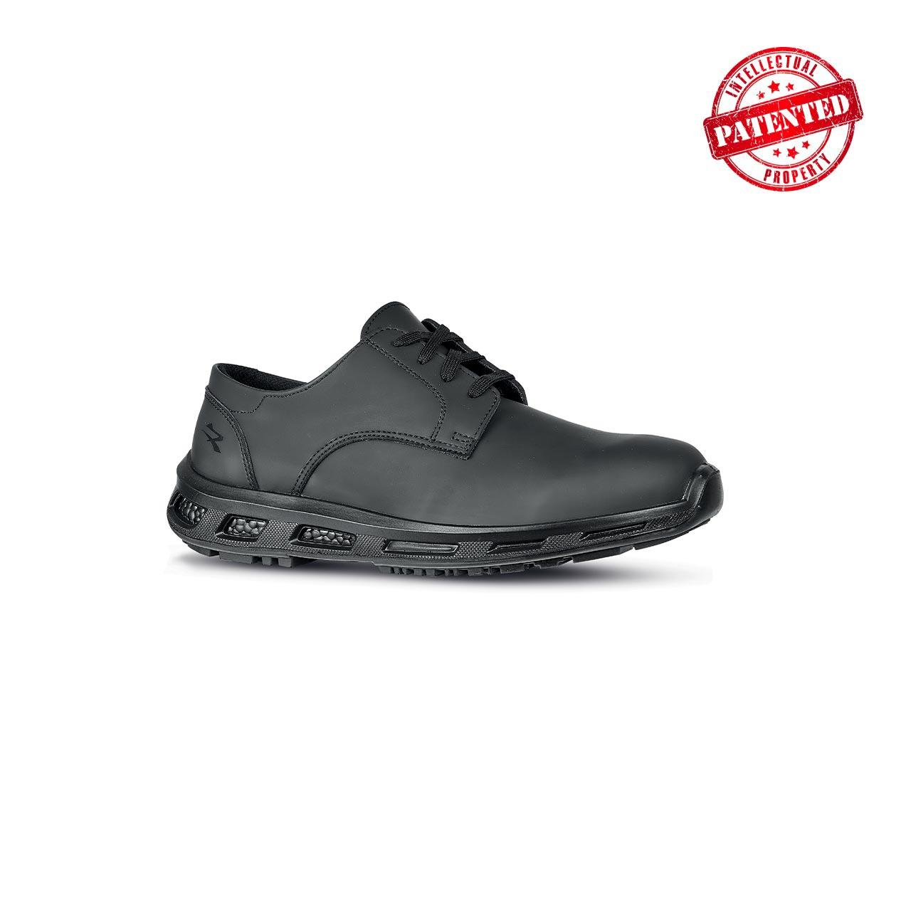 scarpa antinfortunistica upower modello greg linea redpro vista laterale