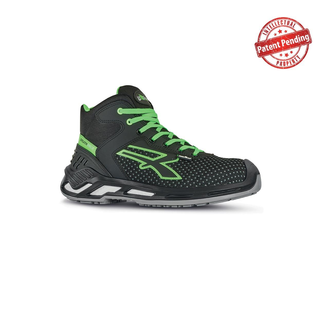 scarpa antinfortunistica upower modello harry linea red360 vista laterale