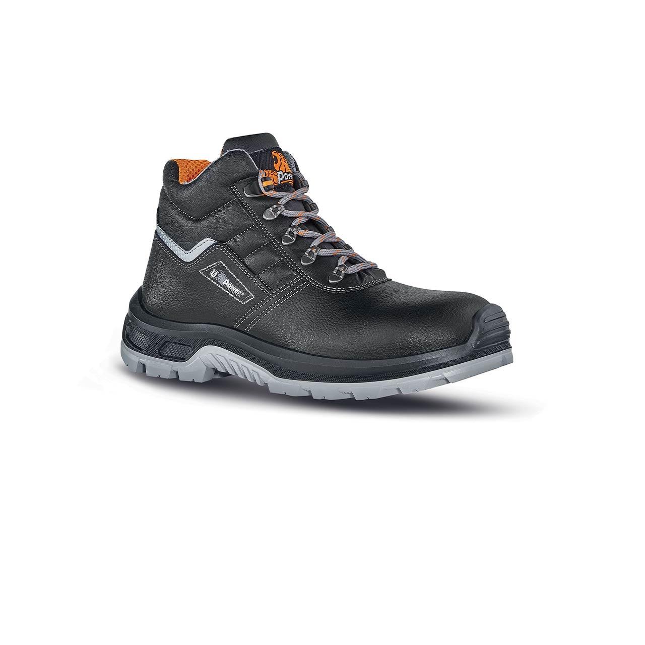 scarpa antinfortunistica upower modello innovation linea stepone vista laterale