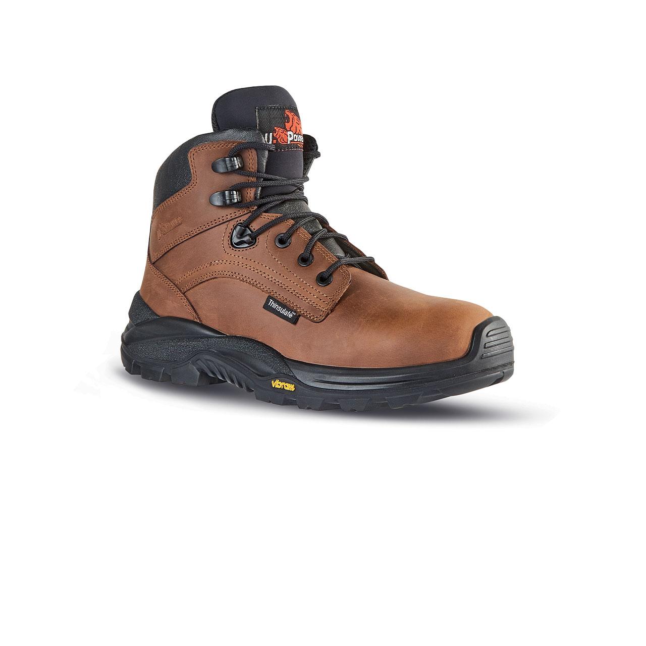scarpa antinfortunistica upower modello iron linea rock_roll vista laterale