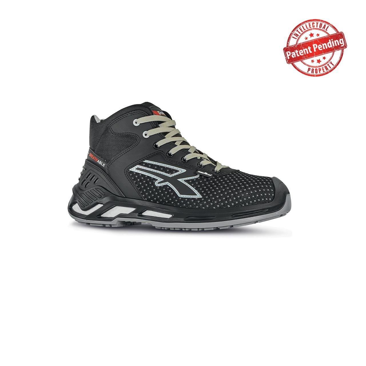 scarpa antinfortunistica upower modello jacob linea red360 vista laterale