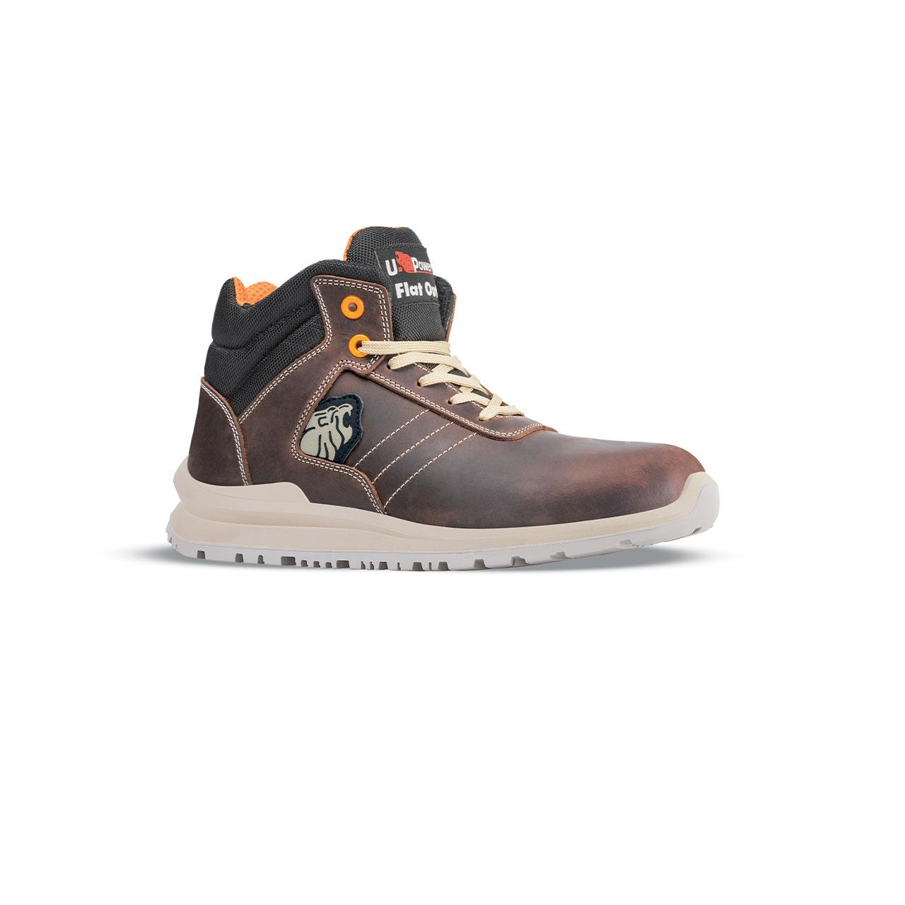 scarpa antinfortunistica upower modello ken linea flatout vista laterale