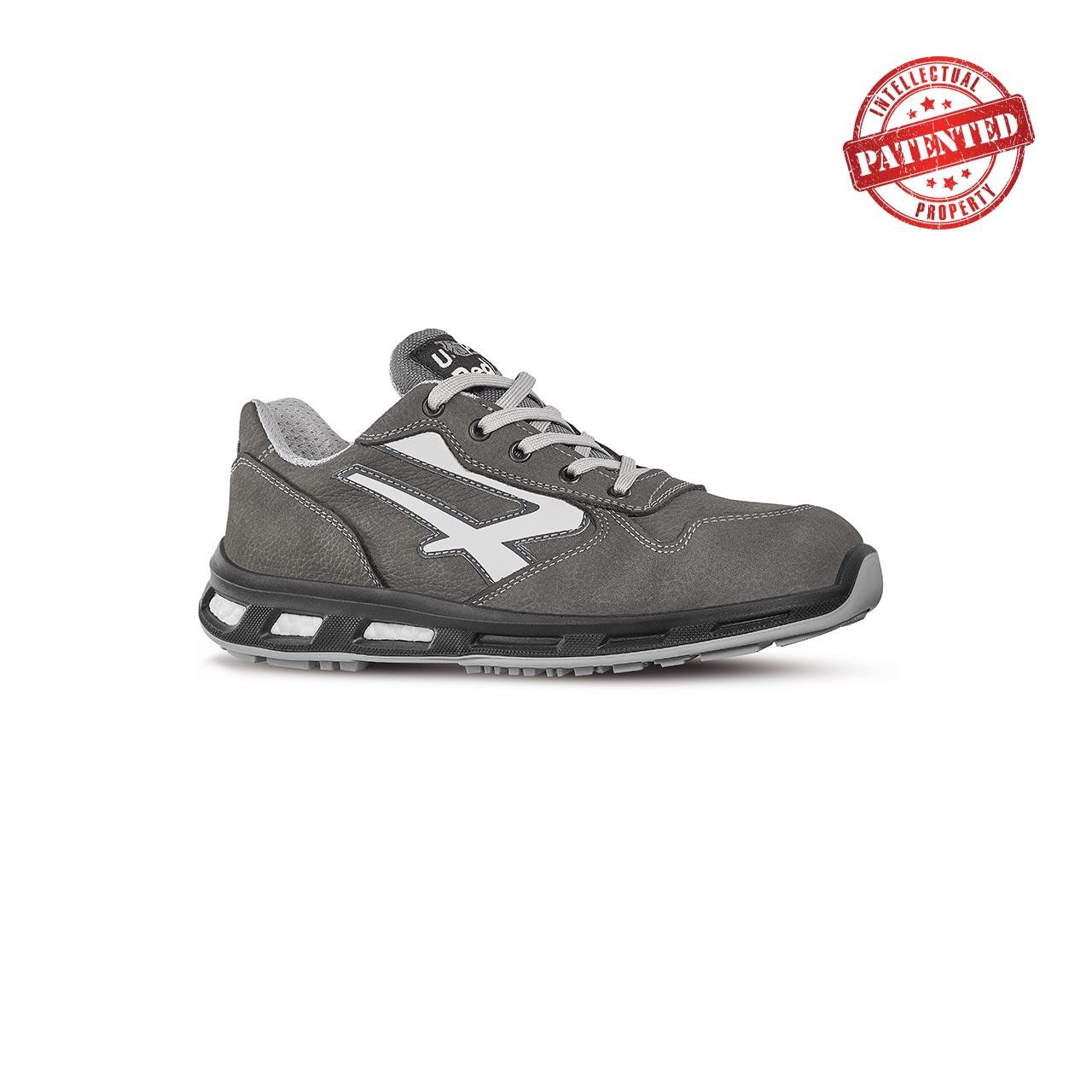 scarpa antinfortunistica upower modello kick linea redlion vista laterale