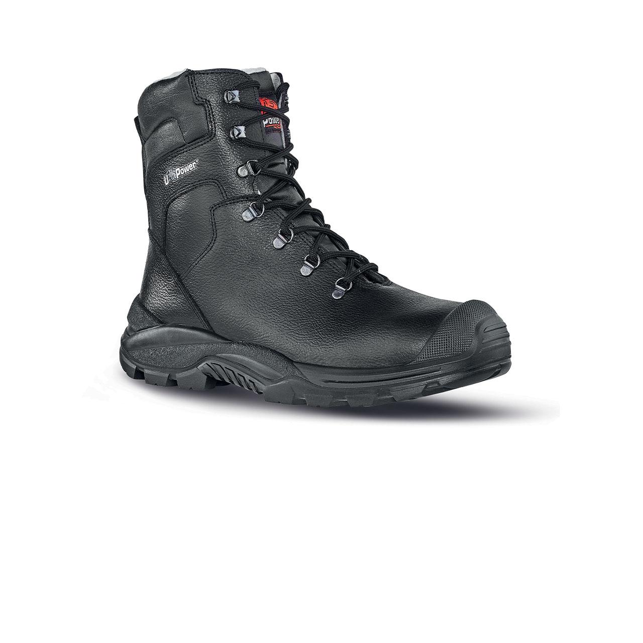 scarpa antinfortunistica upower modello klever linea rock_roll vista laterale