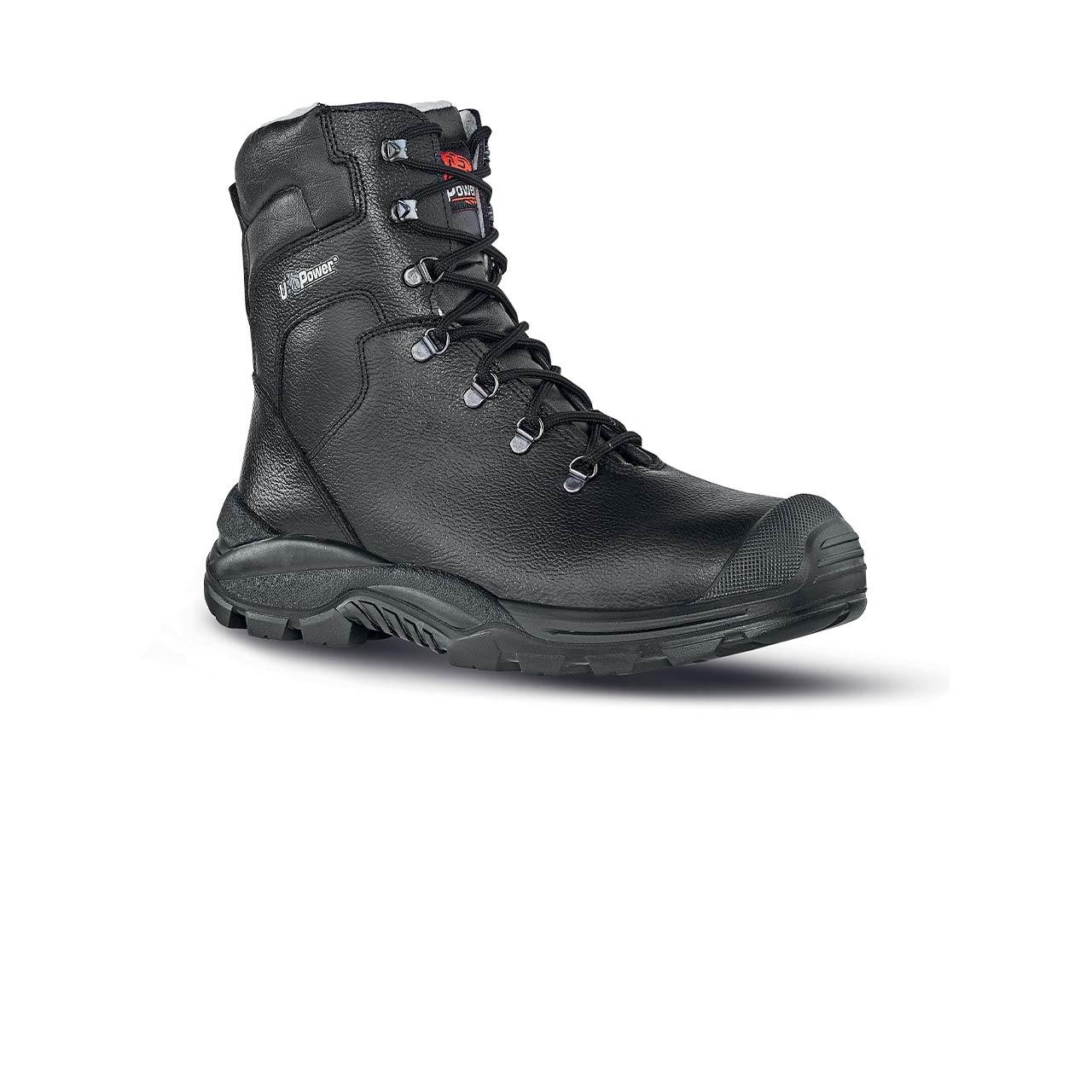 scarpa antinfortunistica upower modello klever linea stepone vista laterale