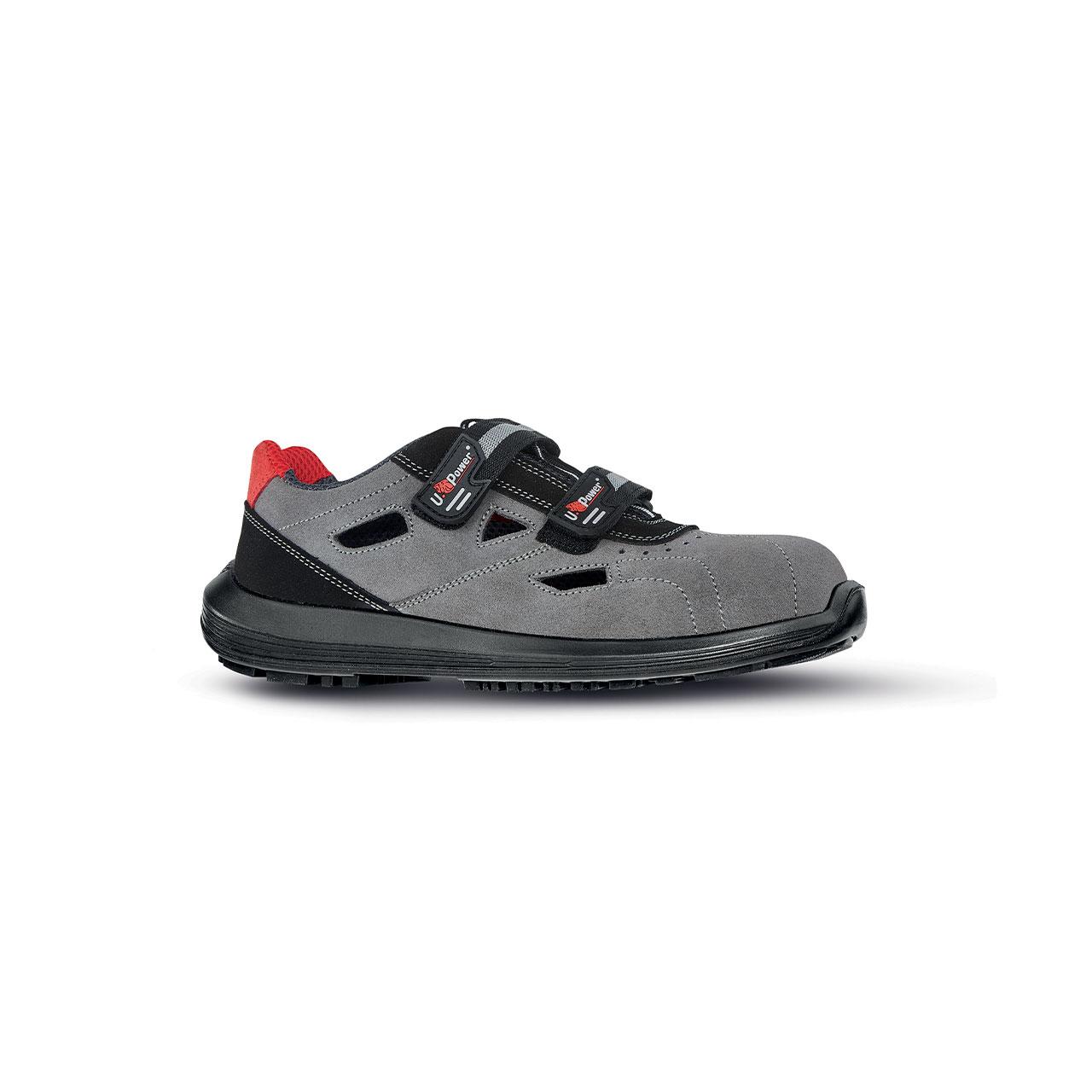 scarpa antinfortunistica upower modello labrador linea rock_roll vista laterale