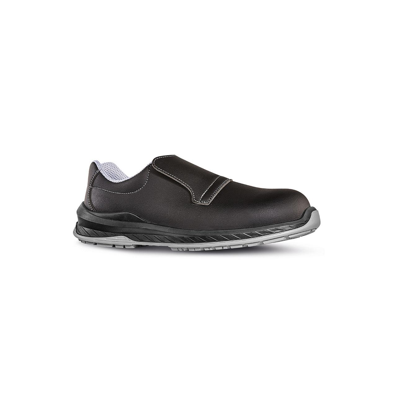 scarpa antinfortunistica upower modello londra linea redindustry vista laterale