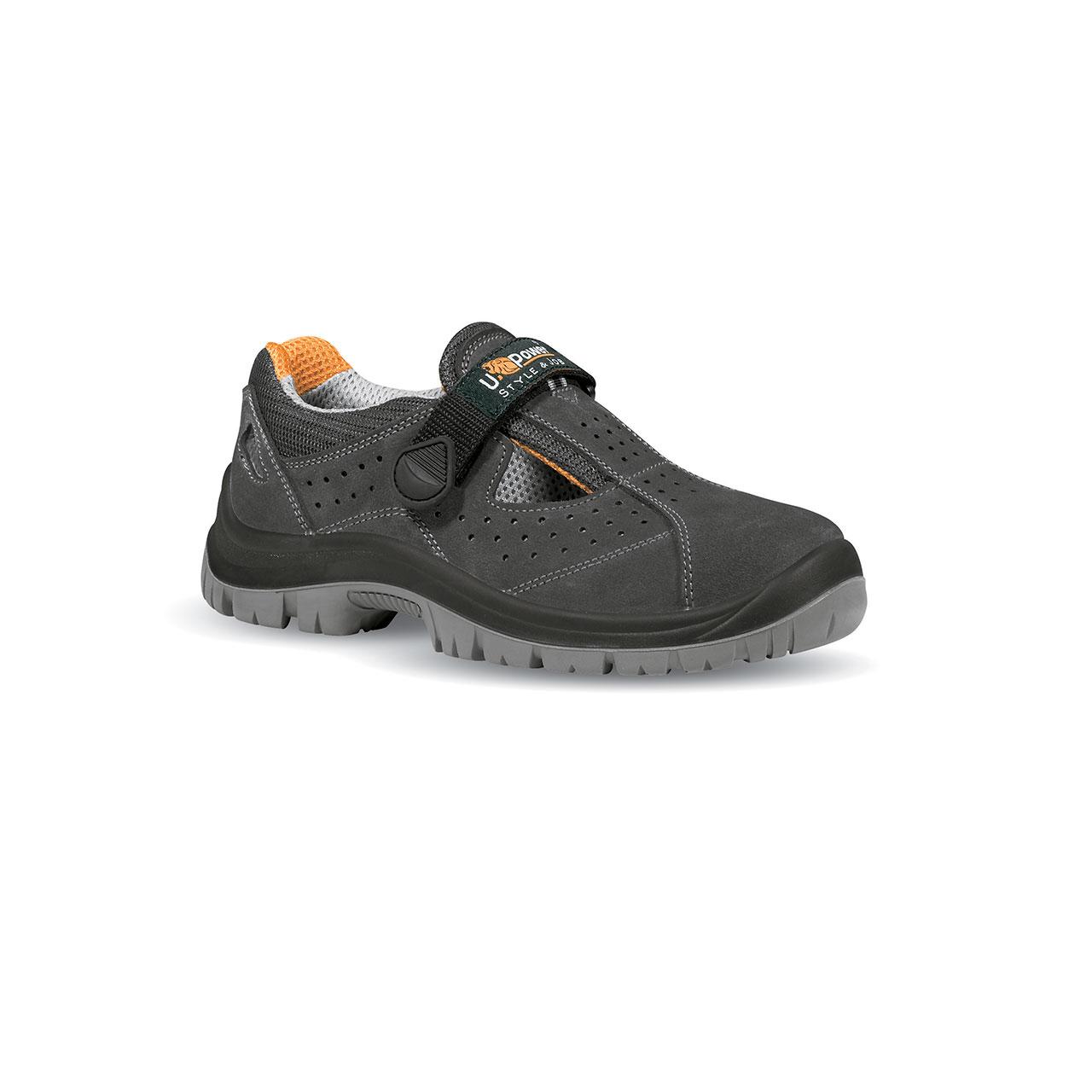 scarpa antinfortunistica upower modello magic linea STYLE_JOB vista laterale