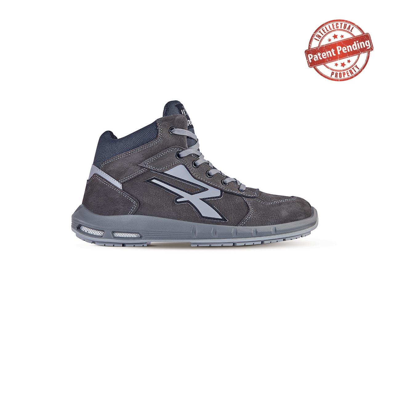 scarpa antinfortunistica upower modello merak plus linea redup plus vista laterale
