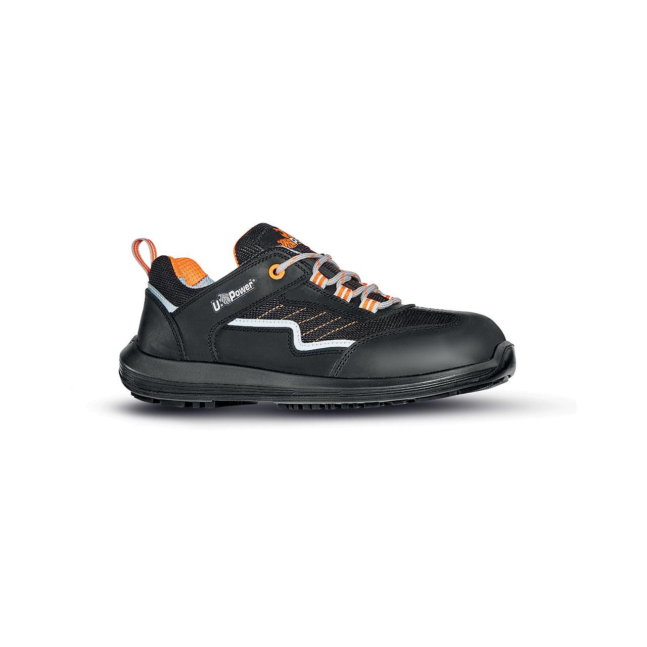 scarpa antinfortunistica upower modello miami linea rock_roll vista laterale