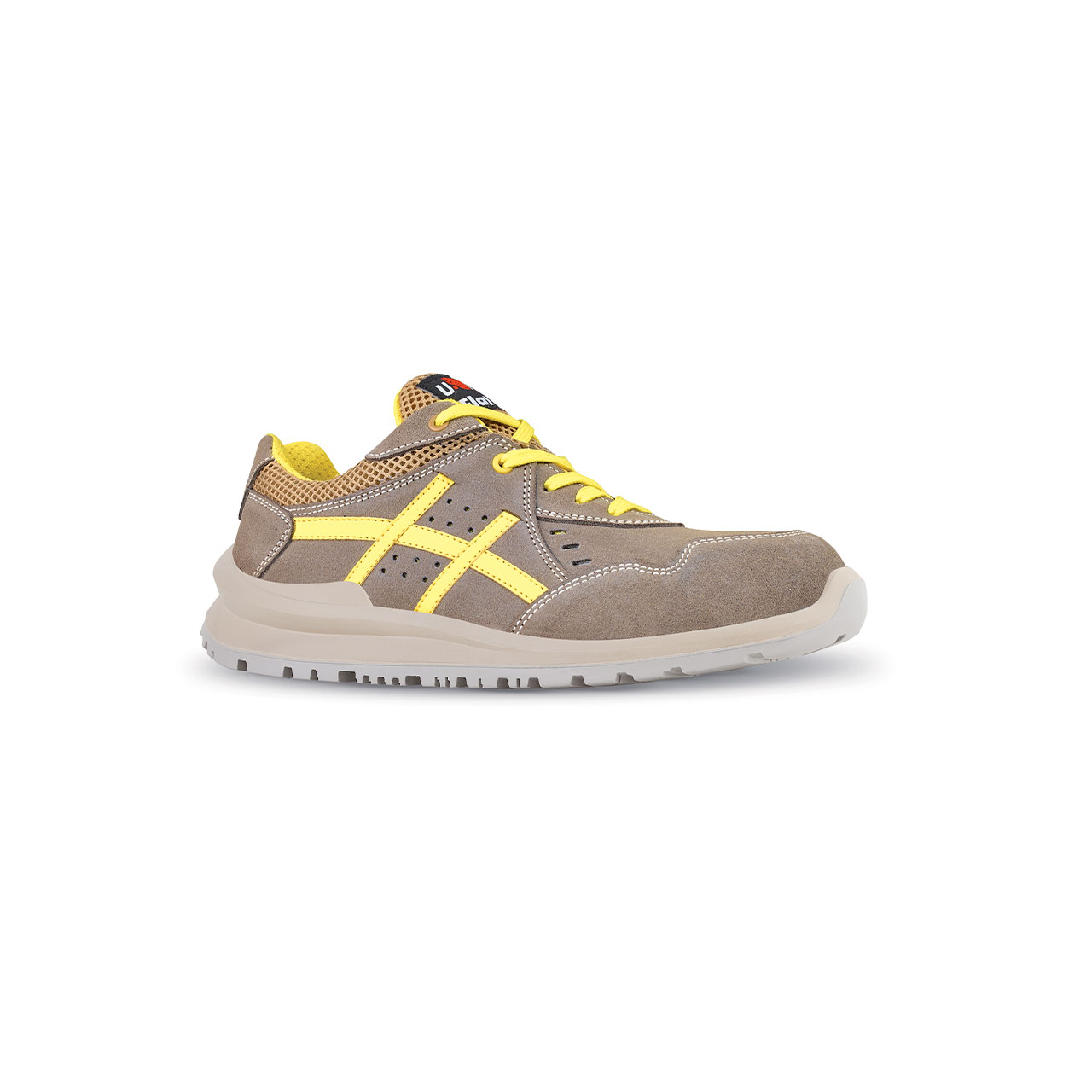 scarpa antinfortunistica upower modello michael linea flatout vista laterale